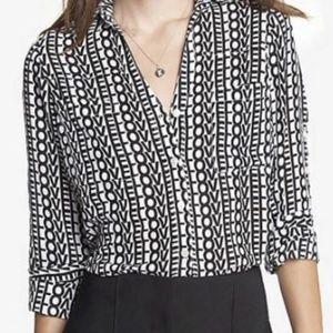 Express LOVE Portofino blouse shirt